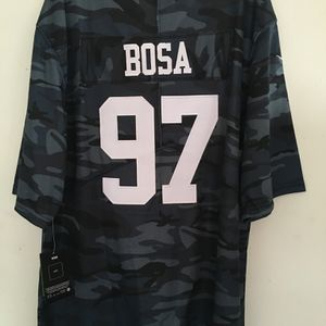 Brand New 2021 49ers Bosa 97 Football Jersey for Sale in San Francisco, CA