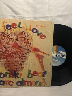 """Bronski Beat """"I Feel Love"""" Featuring Marc Almond 12"""" Vinyl for Sale in Long Beach,  CA"""