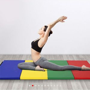 "4'x8'x2"" 4 panel gymnastics yoga workout mat for Sale in Temecula, CA"