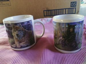 2 wildlife mugs. for Sale in Linden, PA