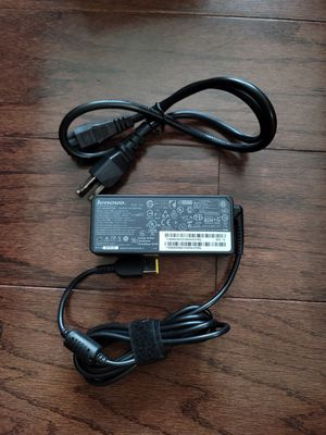 Genuine 65W Lenovo ADLX65NCT3A AC Adapter Charger + Free Cord for Sale in Charlotte, NC
