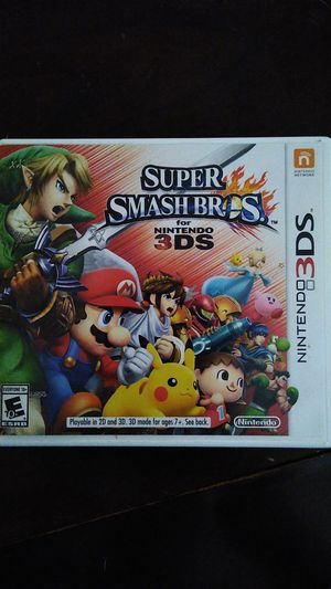 Super Smash Bros. [3DS] for Sale in Austin, TX