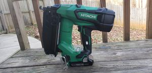 Hitachi NT1865DM 18V Cordless Straight Finish Nailer for Sale in Lawrenceville, GA