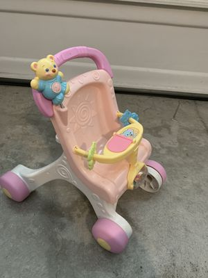 Fisher price brilliant basics stroll along walker for Sale in Milpitas, CA