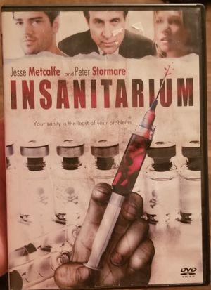 Insanitarium DVD movie for Sale in Three Rivers, MI