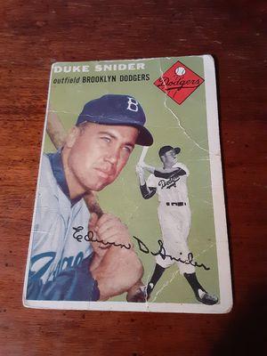 Duke Snider 1954 & 1960 for Sale in Peoria, IL