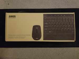Anker Wireless Mouse and Keyboard for Sale in Sharon, MA