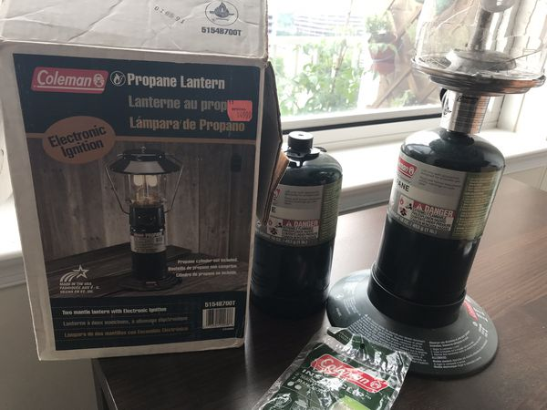 Propane Lanter good for outdoor and camping
