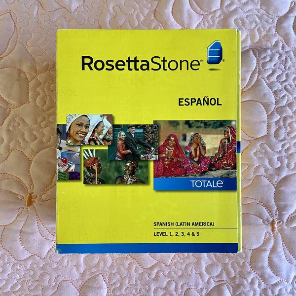 Rosetta Stone Spanish/Español