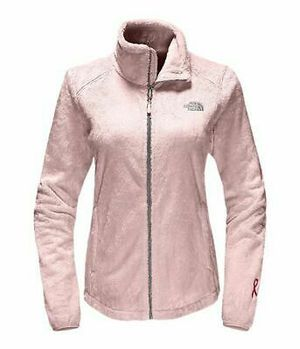 New Womens The North Face Ladies Osito Fleece Coat Top Jacket Black for Sale in US