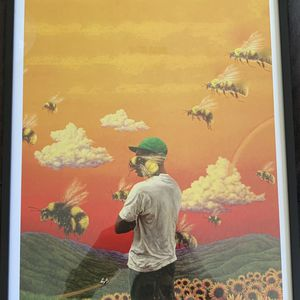 Tyler The Creator Print And Poster In Glass Frame for Sale in La Puente, CA