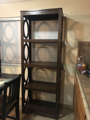 Book shelves with table like new for Sale in Vallejo, CA