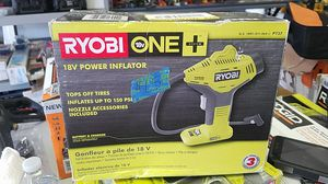 RYOBI 18-Volt ONE+ Cordless Power Inflator (Tool-Only) for Sale in Glendale, AZ
