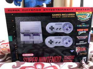SUPER NINTENDO CLASSIC EDITION $60 for Sale in Columbus, OH