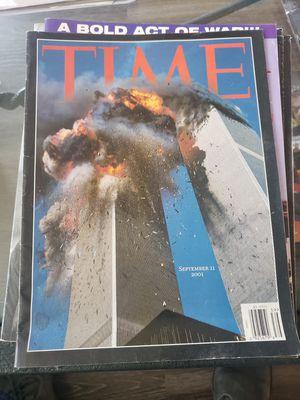 Time Magazine (2)& Arizona Republic 9/11 Edition for Sale in Phoenix, AZ