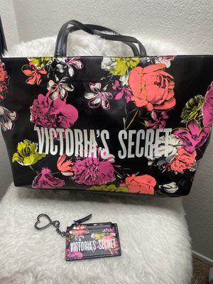 Victoria's Secret tote bag & card case for Sale in Stockton, CA