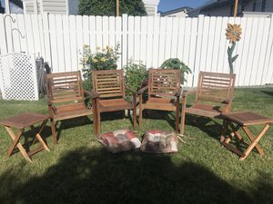 Amazonia chairs & side tables for Sale in Chelan, WA