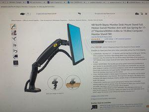 "New NB North Bayou Monitor Desk mountain 17""-27"" for Sale in Menifee, CA"