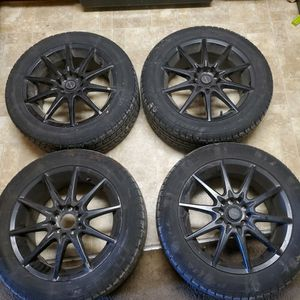 16 In 205/55 Focal Rims Tires for Sale in Seattle, WA