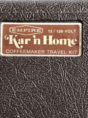 Vintage Travel Coffee Kit for Sale in Franklin, KY
