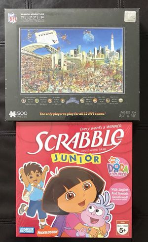 Board game and puzzle for Sale in Katy, TX
