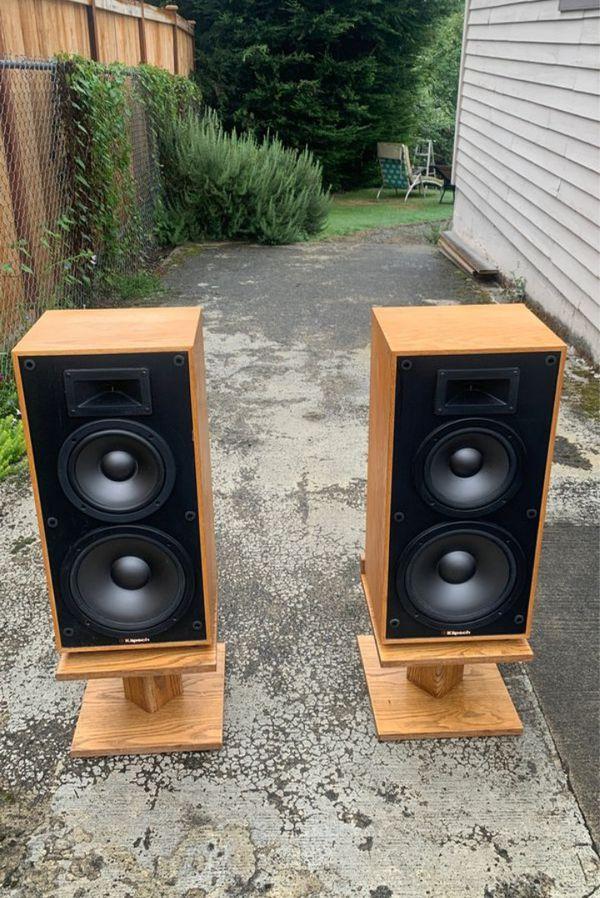 Klipsch 3.2 vintage speakers