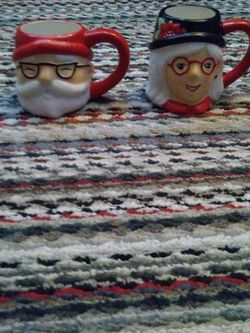 Santa And Mrs. Santa Coffee Cups for Sale in Jacksonville,  FL