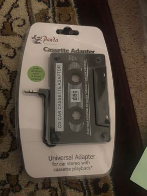 Cassette with Ox cable from music for Sale in Tracy, CA