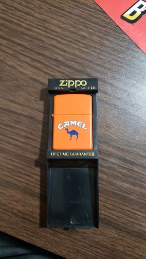 Authentic Zippo Camel Lighter for Sale in Garfield Heights, OH