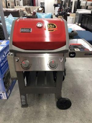 Weber Spirit II E-310 3-Burner Propane Gas Grill in Red for Sale in Houston, TX