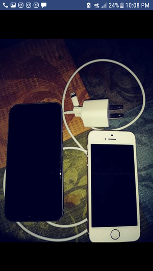 I phone 5c 250 for both for Sale in Nashville, TN