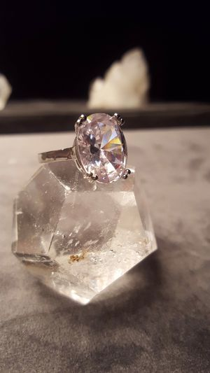 BIG .925 10cts cz size 6.5 ITALY silver ring💓❤💓❤ for Sale in Los Angeles, CA