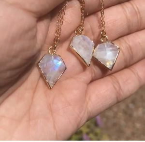 Moonstone necklace on gold filled chain $40 each for Sale in Phoenix, AZ
