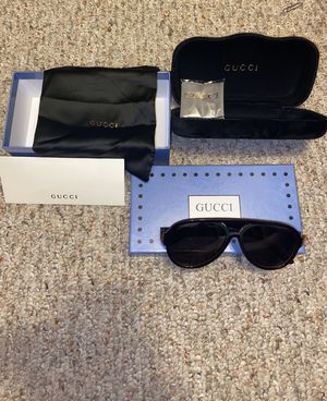 Mens gucci aviator sunglasses for Sale in Tampa, FL