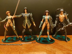 *FULL SET* 4 Witchblade Series 1 Action Figures for Sale in San Francisco, CA