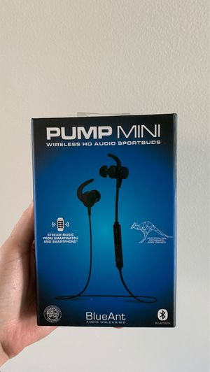 BlueAnt Pump Mini Wireless Earphones for Sale in San Diego, CA