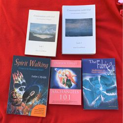 Spiritual Books Spirit Walking Arch Angels The Fabric Of Self Meditations Conversations With God for Sale in Costa Mesa,  CA
