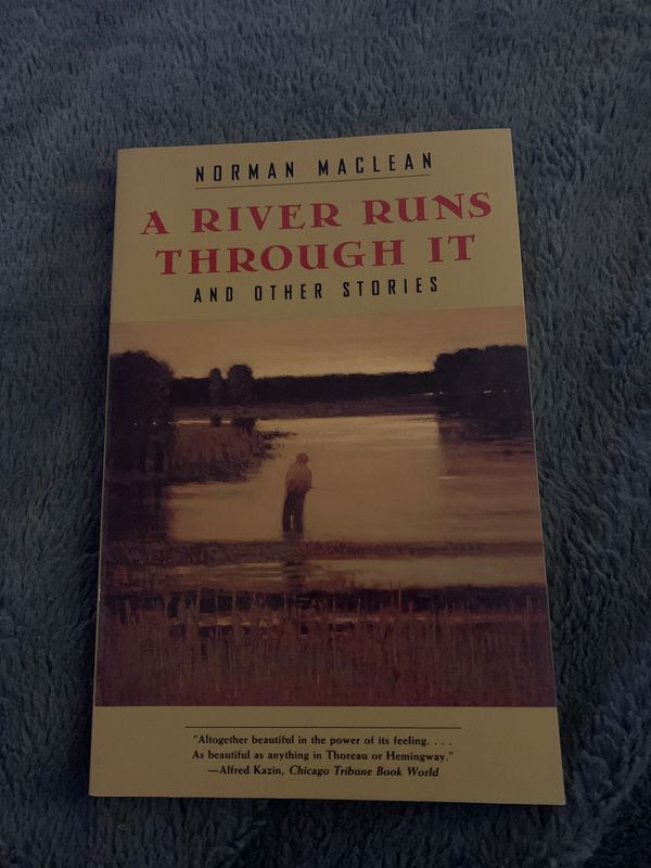 A River Runs Through It, book