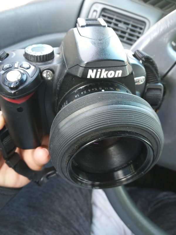 Nikon D60 with Nikon af Nikkor 50mm lens