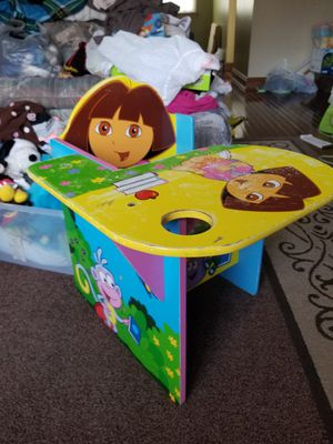 Dora the Explorer Kid/Toddler Activity Chair & Desk for Sale in Alexandria, VA