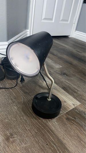 Desk lamp with adjustable stem for Sale in Corona, CA