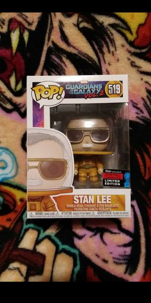 Funko Pop Marvel GotG Stan Lee 2019 NYCC Exclusive Limited Edition #519 for Sale in Cypress, CA