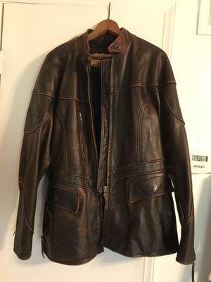 Harley Davidson women's brown leather jacket for Sale in Phenix, VA