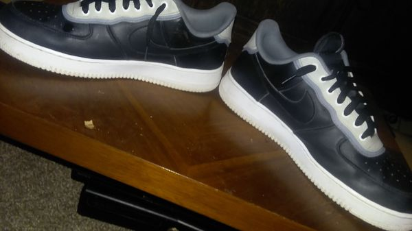 Black,white,gray airforces / size 10