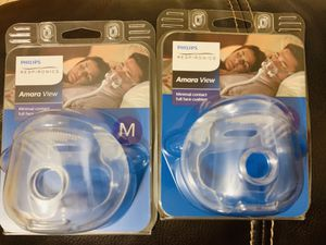 New philips respironics amara view medium size mask replacement cushion for Sale in Miami, FL