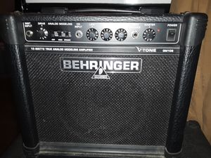 Behringer guitar amp for Sale in Peoria, IL