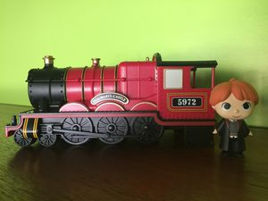 Hogwarts Express Train Ron Weasley Funko Pop Characters Figurines Harry Potter Toys Collectibles Decor for Sale in Las Vegas, NV