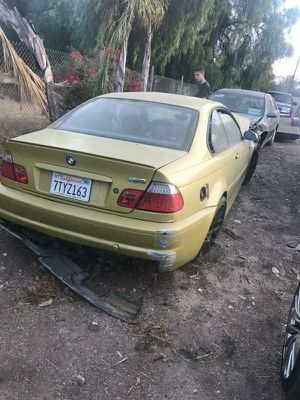 2003 BMW phoenix yellow M3 for Sale in Moreno Valley, CA