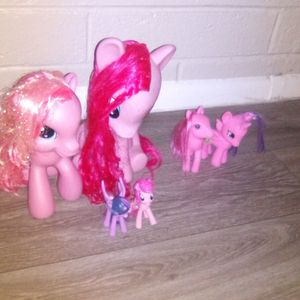 Vintage 4 Pink And Purple My Little Ponies+2 Generics for Sale in Tempe, AZ