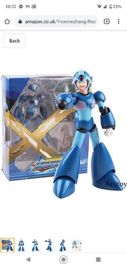 Rockman Megaman X Game Figure D-Arts PVC Action Figure Collectible Model Toy for Sale in Washougal,  WA